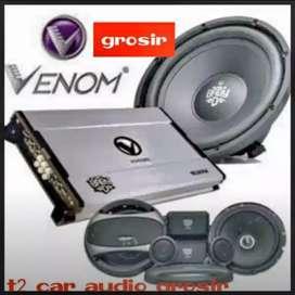 Amazing paket audio venom b diablo komplit bonus led cosmetik harga ok