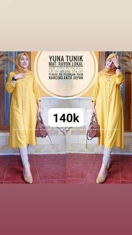 Yuna Tunic Rayon Lokal