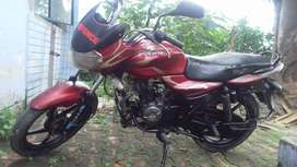 Defence personnal selling his well maintained bike immediately .UP70