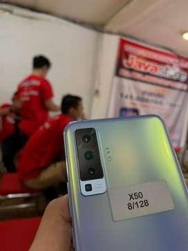 Vivo X50 8/128 fulset super mulus