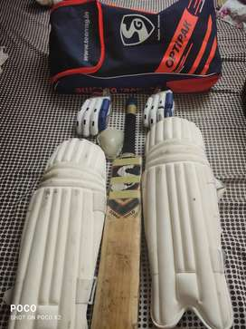 Cricket kit bat gloves cricket pad kit Bag