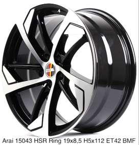 Velg model ARAI 15043 HSR R19X85 H5X112 ET42 BMF