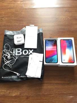 iphone x 256 gb ex garansi ibox