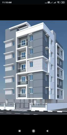 2BHK FLAT with car parking available immediate