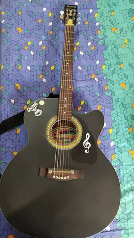 Guitar with cover in great condition