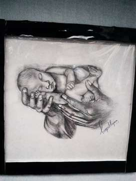 Drawing of baby