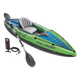 Intex Challenger K1 boat, 1-Person Inflatable Kayak Set