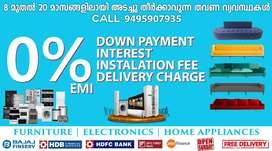 Furniture & Electronics on 0% EMI in PMG on Free Delivery