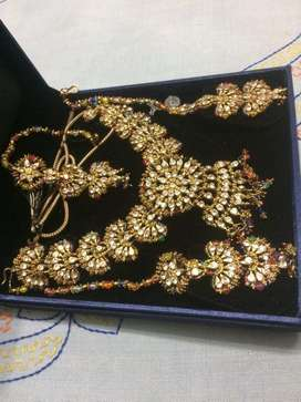 Heavy necklace(diwali offer price less only ₹300)
