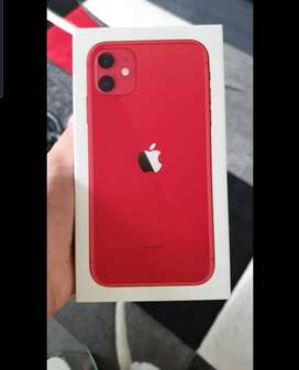 Iphone 11 Red 64gb Brand new