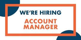 Account Manager required