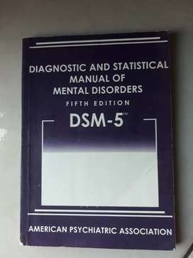 Diagnostic and Statistical Manual of Mental Disorder
