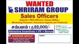 Sales officerd