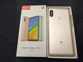 Brand new condition Redmi note 5 pro 6gb 64gb  With warranty