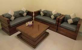 Kursi/sofa/tamu/kayu jati perhutani / kwalitas ekspor