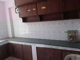 A 3bhk semi furnished flat at Pandra is available for rent.