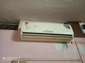 Godrej Ac. 2Ton. Well maintained. Working.No complaint till now.