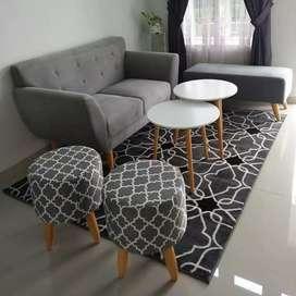 Berbagai sofa dan meja makan bs request warna