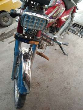 70 CC POWER Brand motorcycle fine condition not registered