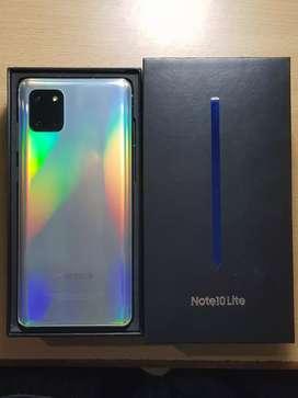 Samsung Note 10 lite * Top end model * Aura Glow. Samsung bought