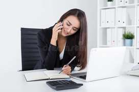 Requirement for females telecalling grils jobs available