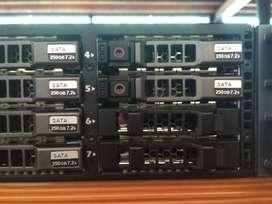 Server R710 8Core Ram 32 HDD 600 SAS Bisa CoD Free Ongkir