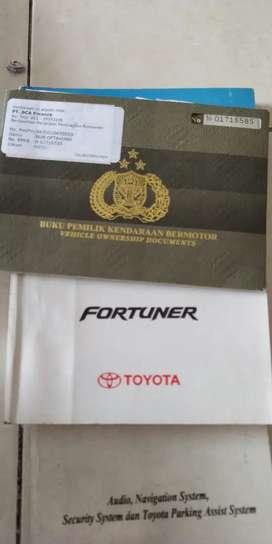 Toyota Fortuner G 2.5 diesel