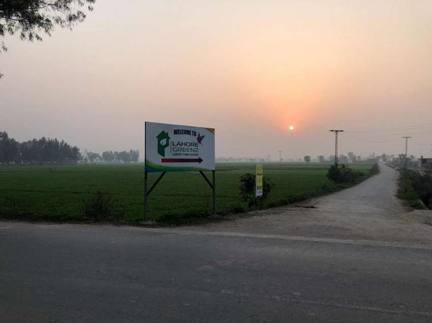Perfect 4 Kanal Farm house Plot On Bedian Road For Sale 0