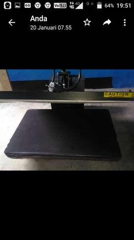 Mesin press kaos 60X40 Cm