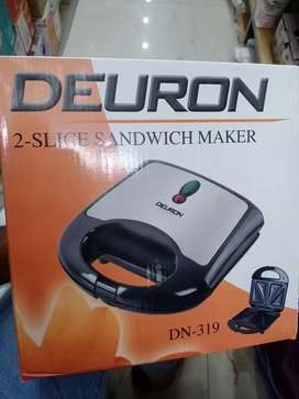 Deuron sandwich maker . Model No: DN319   . Warranty 2 years