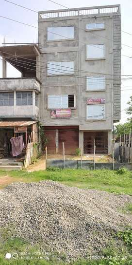 Commercial space available in Khayerpur main Road for Rent