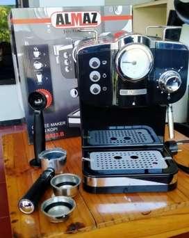 paket mesin kopi almaz kg589+grinder (fullsett)
