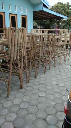 Jemuran Baju Bambu