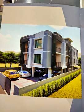 Under construction 3bhk-2bkh flats for sale in lalganesh kahilipara