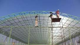 shades and canopies tensile fabric structures