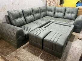 Brand new L shape sofa set direct from factory at factory prices