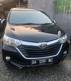 Toyota Grand Avanza G 2017 Manual warna hitam