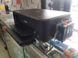 Printer infus merk canon Multifungsi Print Scan & Fotocopy siap pakai