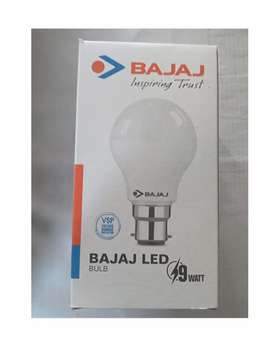 9w Bajaj bulb available