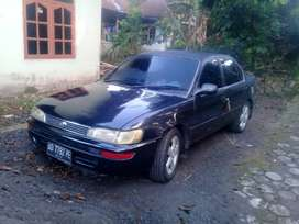 Toyota Great corolla 92 build up injection mnl