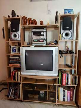 Selling TV along with speakers and cabinet
