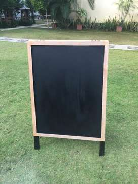 Blackboard/ papan tulis menu