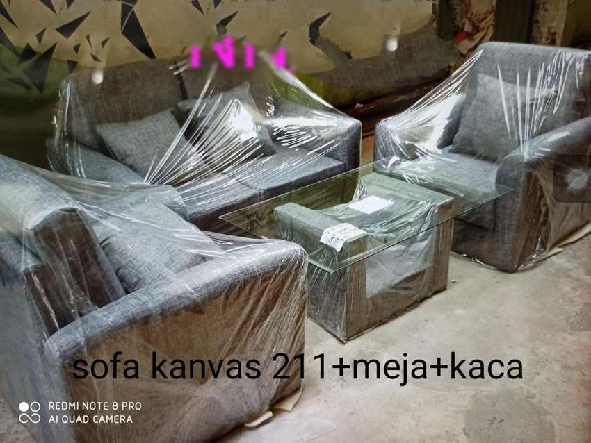 Kursi Tamu / Kursi Keluarga / Sofa Tamu / Sofa Keluarga 2-1-1-Meja 0
