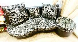 6 seater sofa with centre table