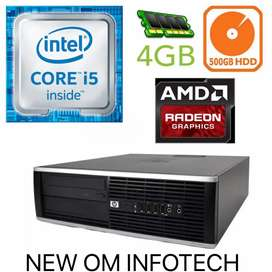 HP i5 CPU Available With Graphic Card With Warrenty
