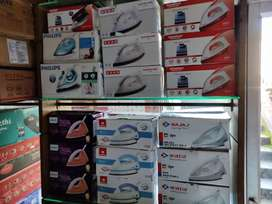 New iron boxes all brands with warranty