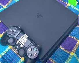 ps4 slim 500Gb good condition complete assassries available