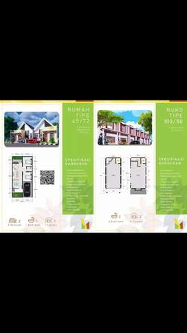 rumah toko (RUKO) bukit indah residence
