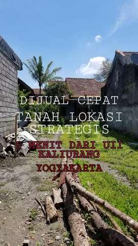 DIJUAL CEPAT!! TANAH DEKAT KAMPUS UII YOGYAKARTA