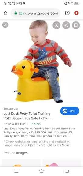 Ex kado Potty toilet training